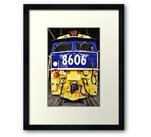 8606 Framed Print