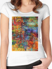 Where Healing Waters Flow Women's Fitted Scoop T-Shirt