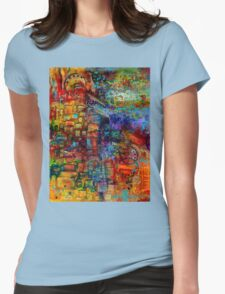 Where Healing Waters Flow Womens Fitted T-Shirt