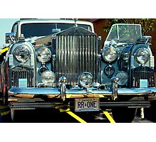 1955 Silver Wraith Rolls Royce............ Photographic Print