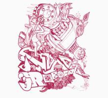 Robocat battle time out Pink by Adew