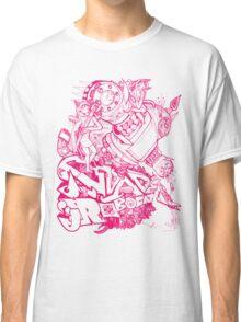 Robocat battle time out Pink Classic T-Shirt