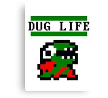 Fygar Dug life Canvas Print