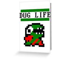 Fygar Dug life Greeting Card