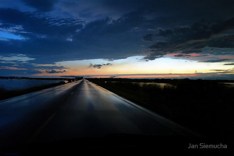 Driving Out of the Storm ! by Jan Siemucha