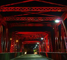 Red Bridge by Wayne  Nixon