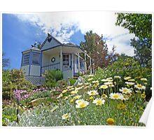 Rose Cottage Poster