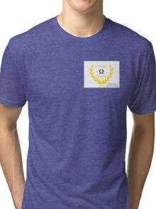 Olympus Designs FIRST ANNUAL Product LAUNCH!! Tri-blend T-Shirt