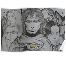 Frodo and crew Poster