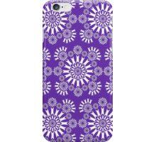 Purple Circles iPhone Case/Skin