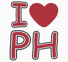 I heart PH T-Shirt by Nhan Ngo