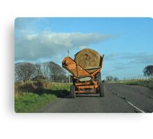 Hay Carting- Scottish style Canvas Print