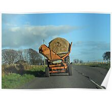 Hay Carting- Scottish style Poster