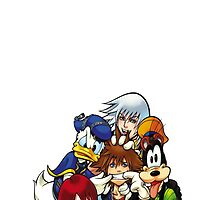 kingdom hearts by cptpuggles