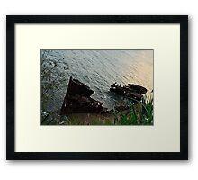 HMQS GAYUNDA Framed Print