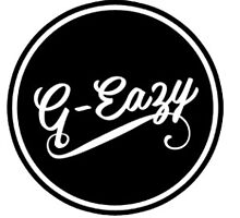 G-Eazy Black Circle Logo by designs-by-jess