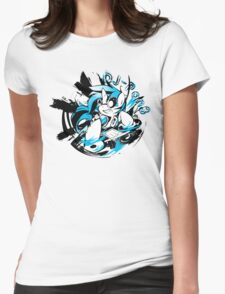 Dj-Pon3 Womens Fitted T-Shirt