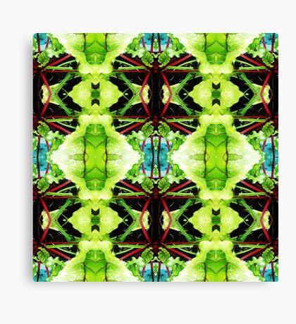 salad leaves Canvas Print