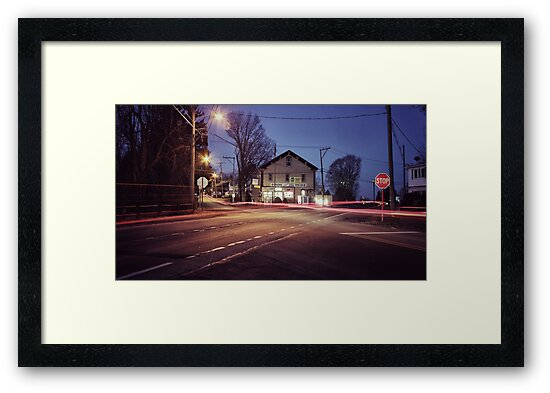 Morning Traffic (Snapseed) by Aaron Campbell