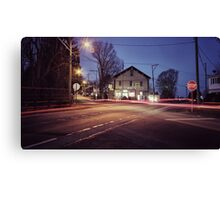 Morning Traffic (Snapseed) Canvas Print