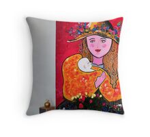 art in the home Throw Pillow