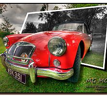 MG MGA by Nigel Butterfield