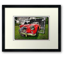 MG MGA Framed Print