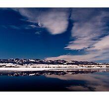 Iced Landscape Photographic Print