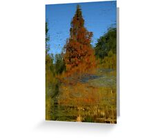 Nature's Mirror ~ Part One Greeting Card