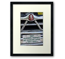 ...and The Piston Cup! Framed Print