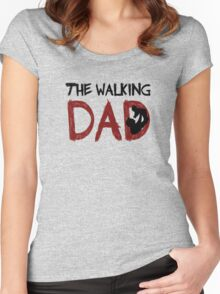 The Walking Dad / The Walking Dead Women's Fitted Scoop T-Shirt