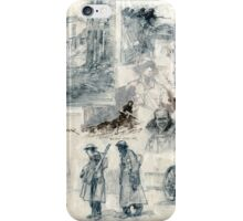 War drawings iPhone Case/Skin