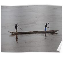On the Congo River Poster