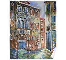 Venice - Romantic Row Poster