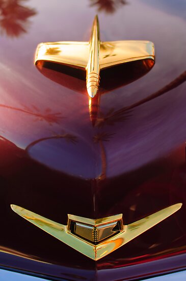 1953 Kaiser Golden Dragon Hood Ornament 2 by Jill Reger