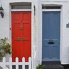 Two Doors. Oxford, UK by Igor Pozdnyakov