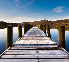 Coniston Pier by Rob Sutherland