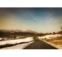 The Road to Torver Photographic Print