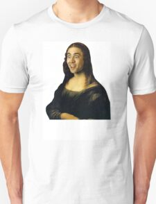 Nicolas Cage as the Mona Lisa T-Shirt