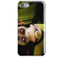 Musical Jolly Chimp Enjoys His Cereal iPhone iPhone Case/Skin