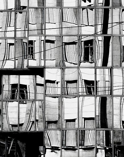 The Reflection of Buildings on Buildings in Belgrade by StudioDestruct