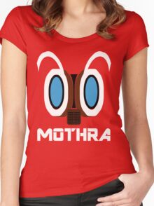 Mothra  Women's Fitted Scoop T-Shirt