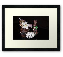 Easter Goodies Framed Print