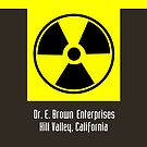 Dr. E. Brown Enterprises Hill Valley, California (iPhone &amp; iPod Cases) by PopCultFanatics