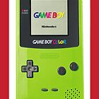 Gameboy Color iphone case by grafidiU