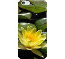 Yellow Lotus iPhone Case/Skin