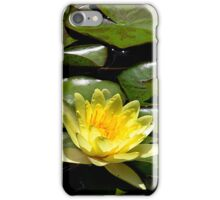 Yellow Lotus iPhone Case/Skin