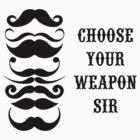 Moustaches by SlushyCheese