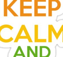 Keep Calm - DJ Sticker