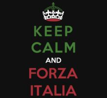 Keep Calm And Forza Italia T-Shirt